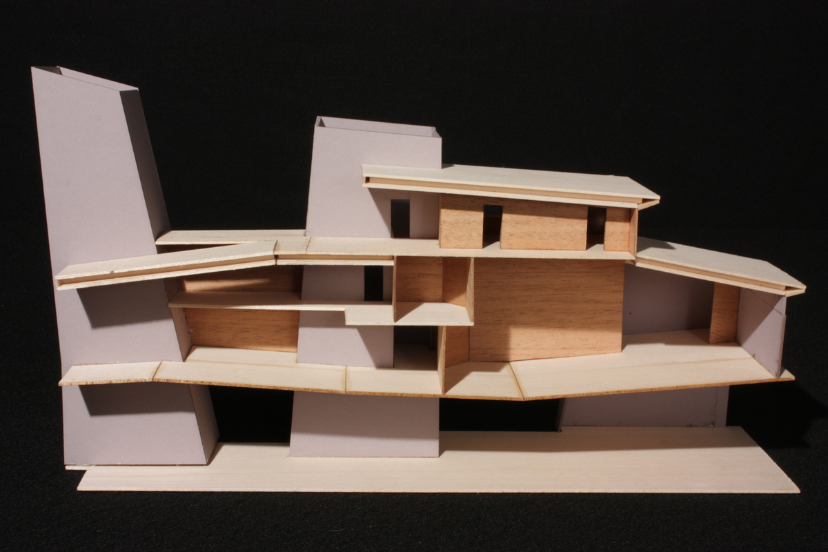 Conceptual Sectional Model - Section View