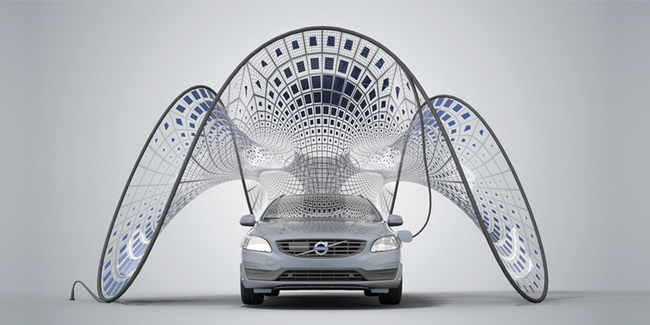 pavillion for Volvo by SynthesisDNA