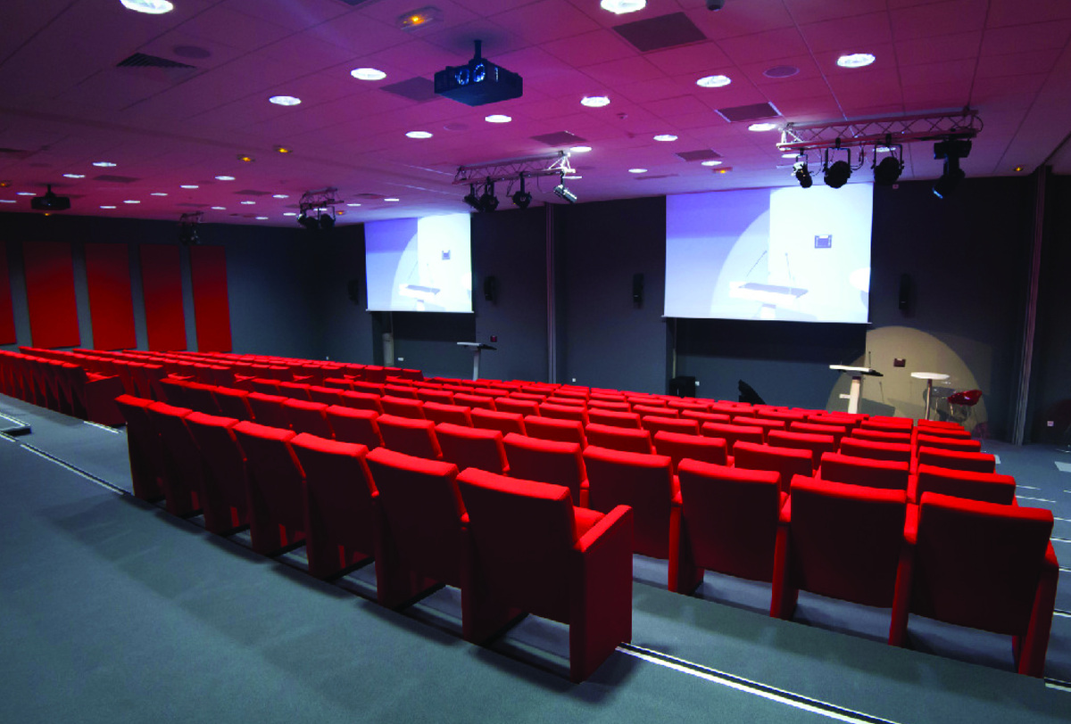 New 300 seat auditorium