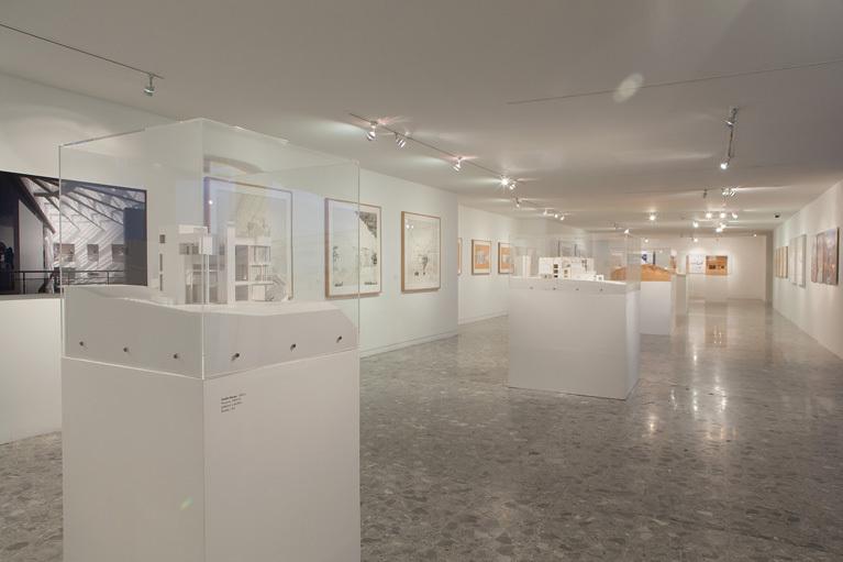 Richard Meier Retrospective - Image courtesy Agustín Estrada