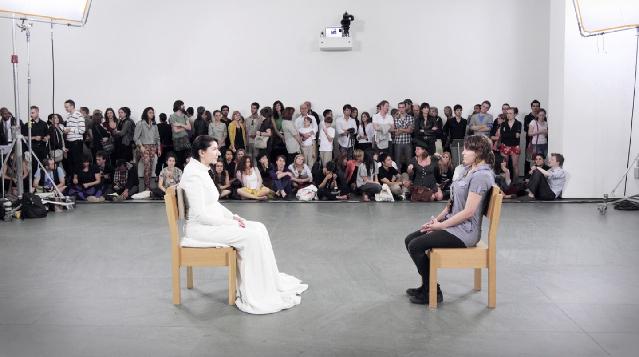 Marina Abramovic, The Artist Is Present (2010), MoMA