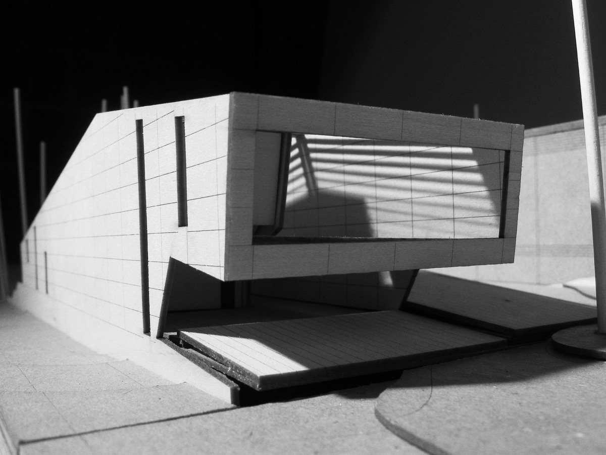 final model + front view