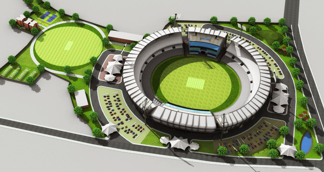 Mpca Stadium Gwalior Prashant Sharma Archinect