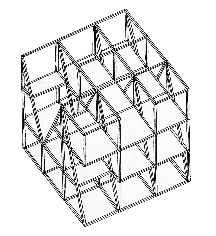 Axonometric, Structure