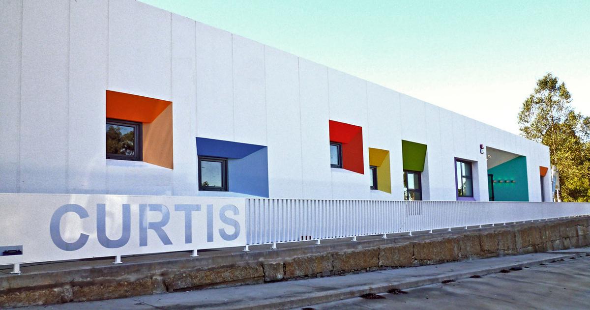 Nursery school in curtis a coru a spain naos - Estudios de arquitectura coruna ...