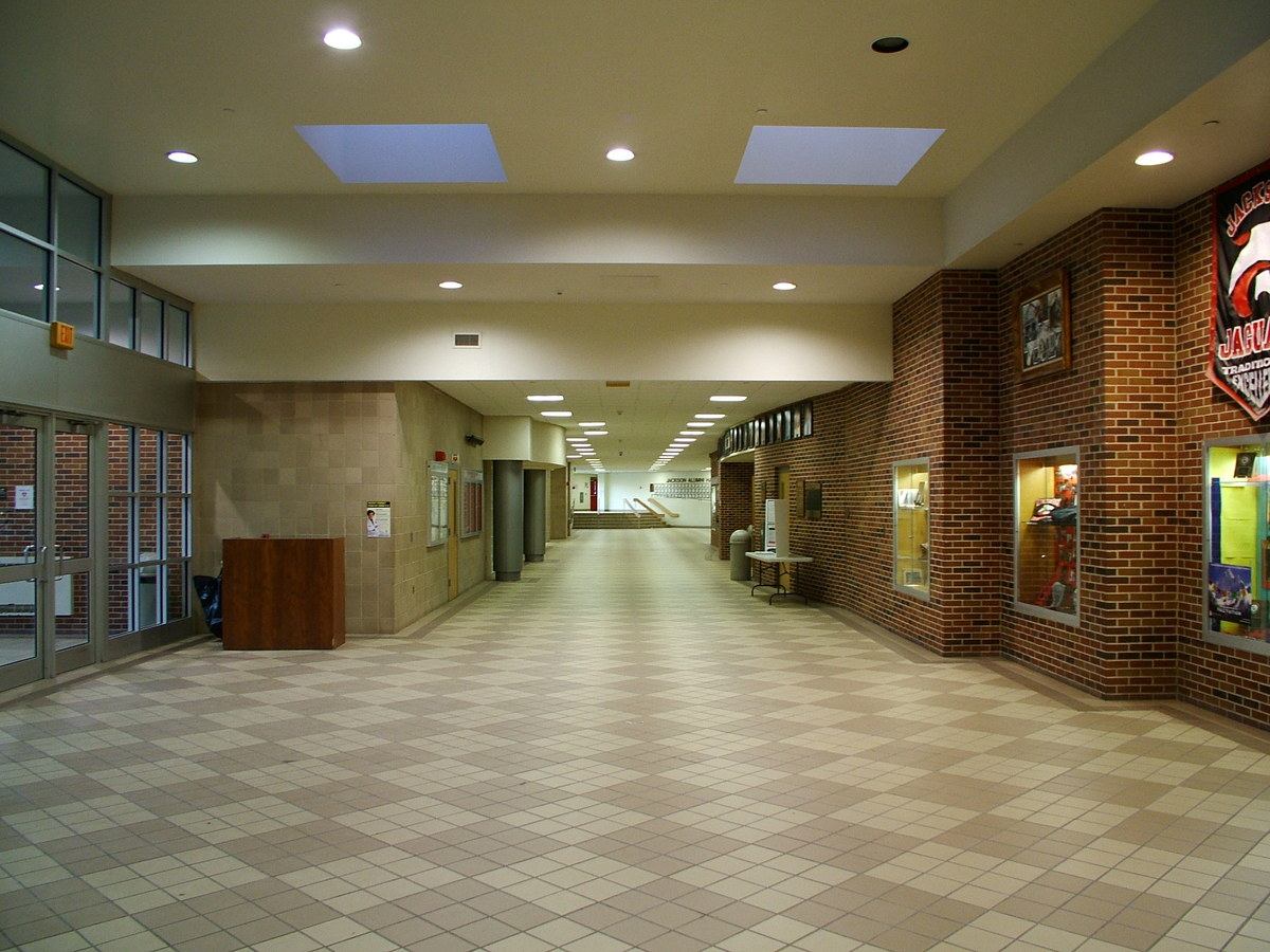 INTERIOR VIEW AT MAIN ENTRANCE