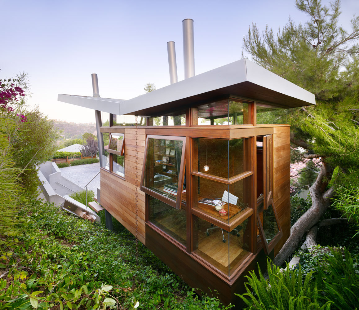 banyan drive treehouse rockefeller partners architects - Treehouse Plans 12x8
