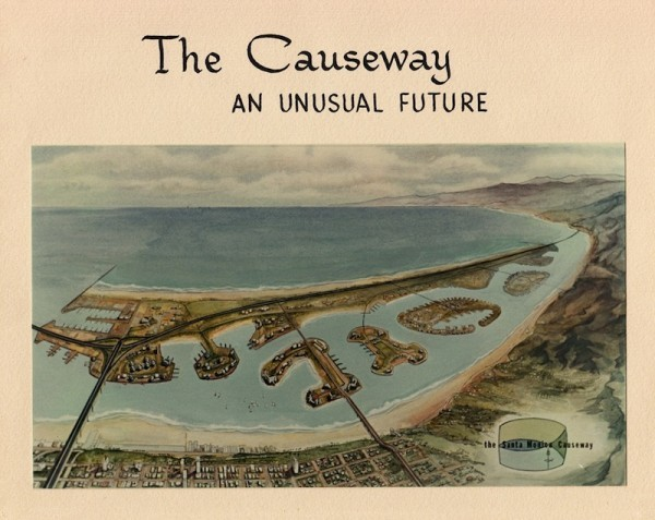 The 1965 proposed offshore freeway in Santa Monica would have included manmade islands