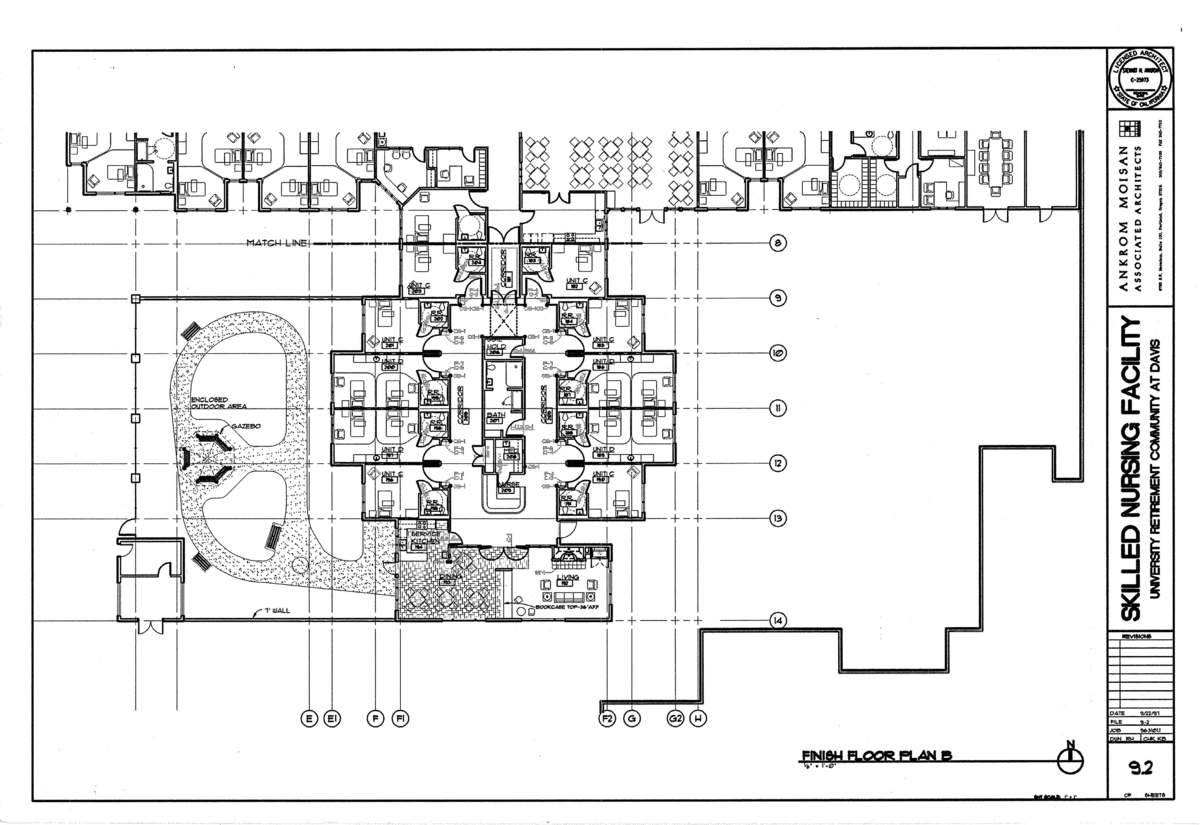 Finish Floor Plan- Alzheimer's Unit