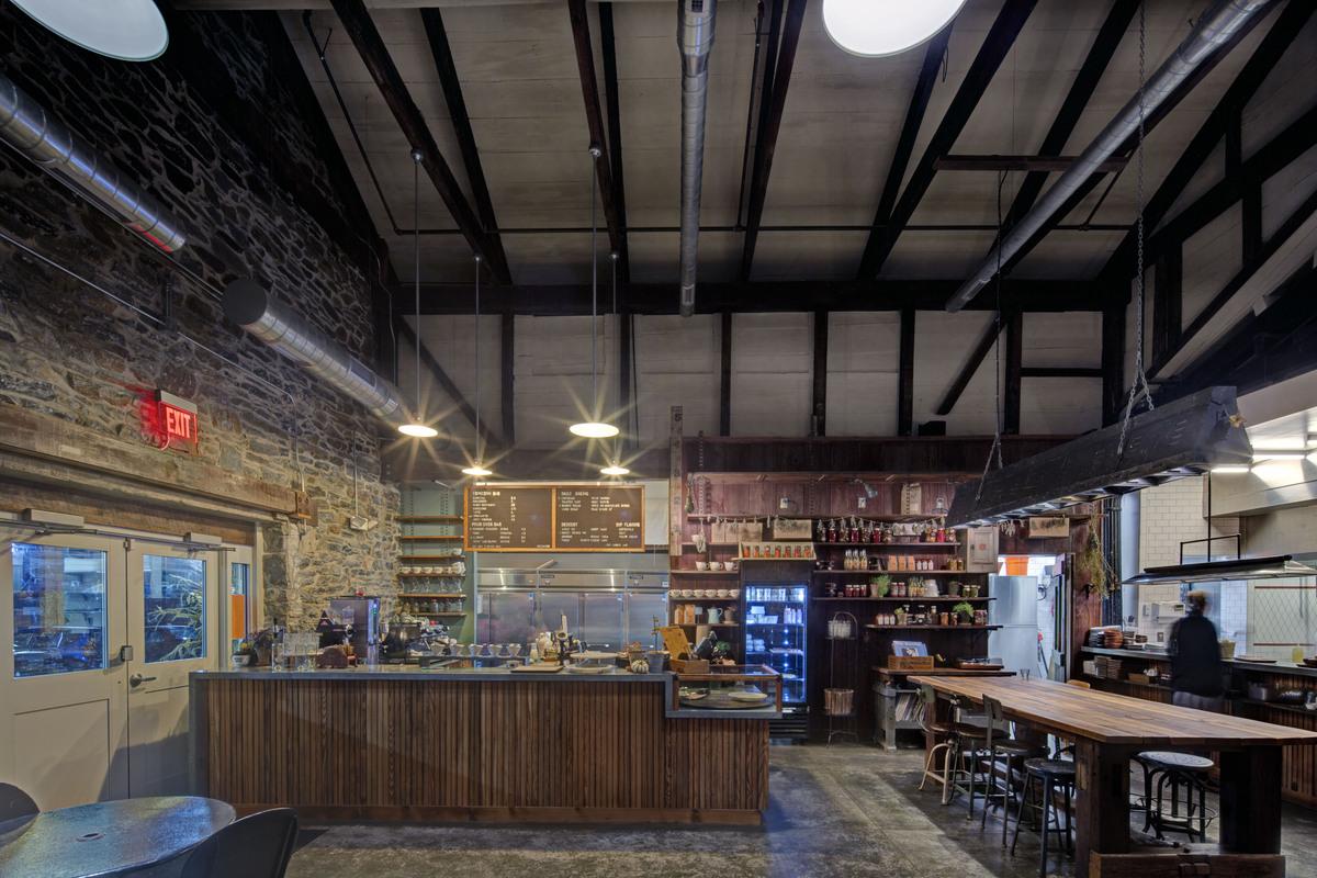 Artifact Coffee Marks Thomas Architects Archinect