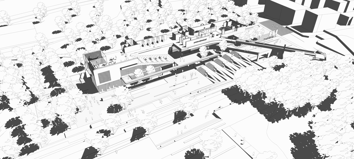 011 – AXONOMETRIC VIEW - Image Courtesy of ONZ Architects