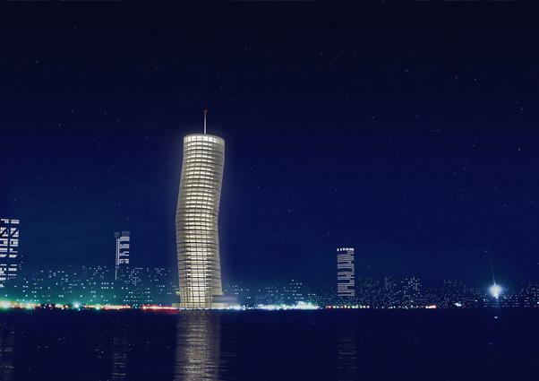drunken tower / S&P architects