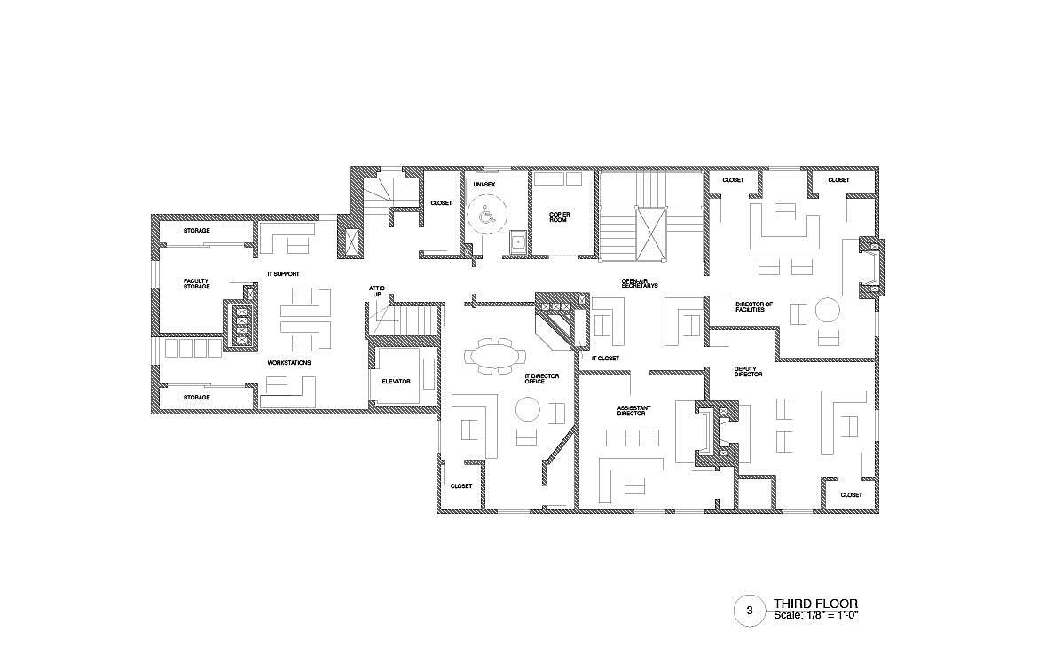 Third Floor - New