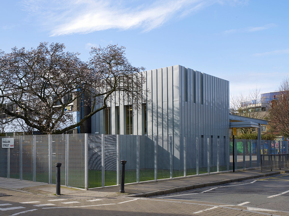 Stephen Lawrence Prize Winner: St. Patrick's School Library and Music Room by Coffey Architects (Photo: Tim Soar)