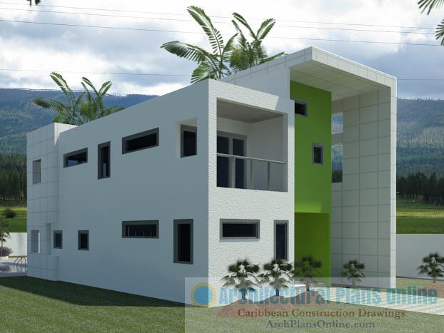 Caribbean Home Design HD023 Damar Hutchinson Archinect