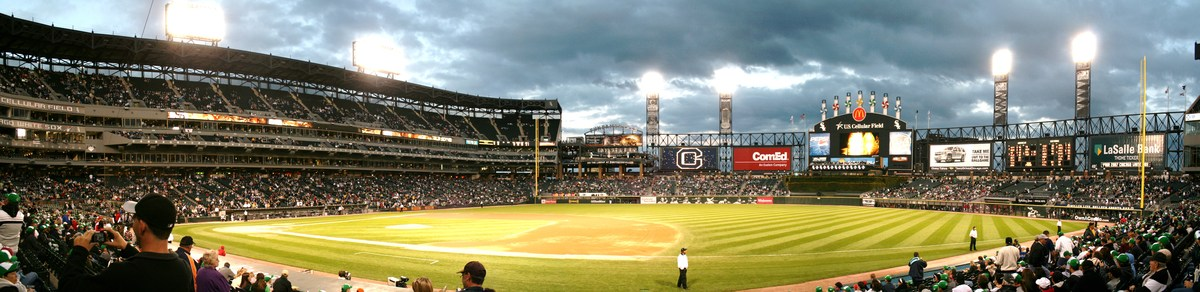 Panoramic View toward Left Field
