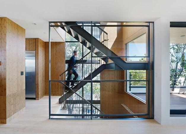 Telegraph Hill House, by Paulett Taggart Architects. Photo: Bruce Damonte, Paulett Taggart Architects