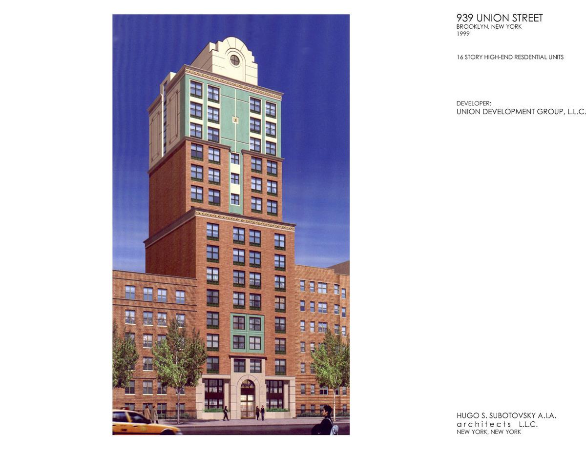 Union Street Rd. Brooklyn, NY Designer