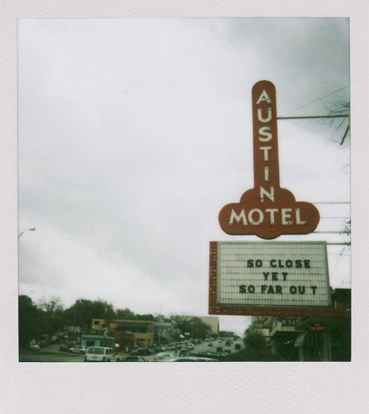 Austin Motel, Austin, Texas. [Photo by donte] via David Heymann