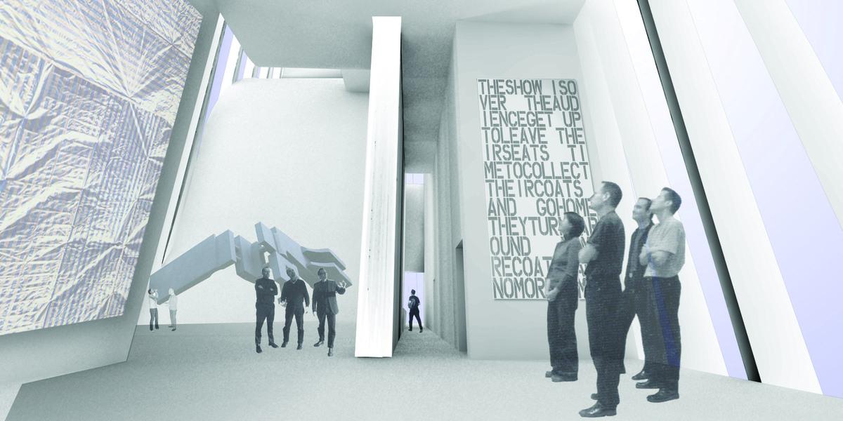 Interior Render_Gallery floor