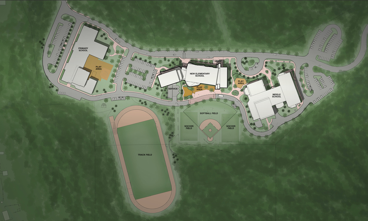 Douglas Schools proposed site plan