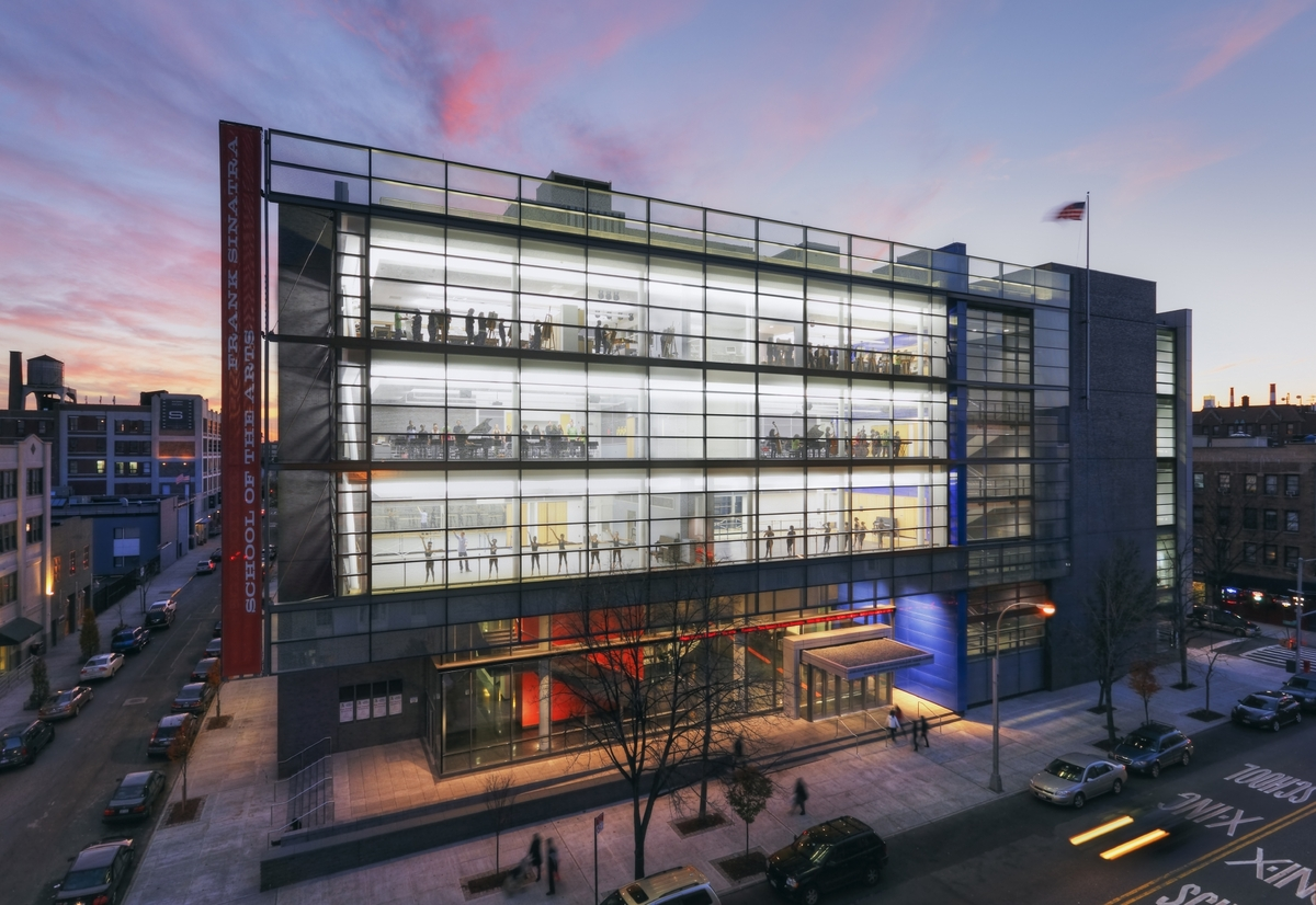 Frank sinatra school of the arts ennead architects for Architecture companies in nyc