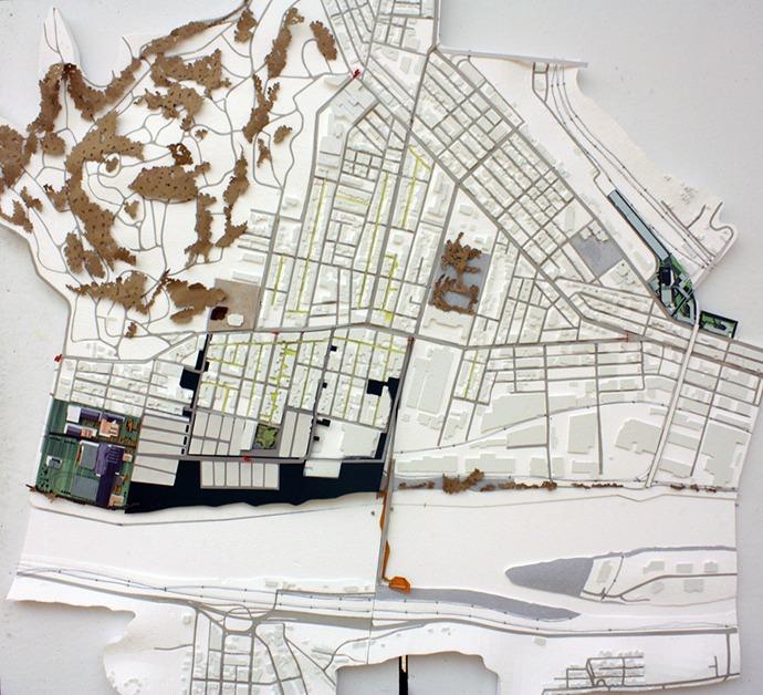 Lawrenceville site model