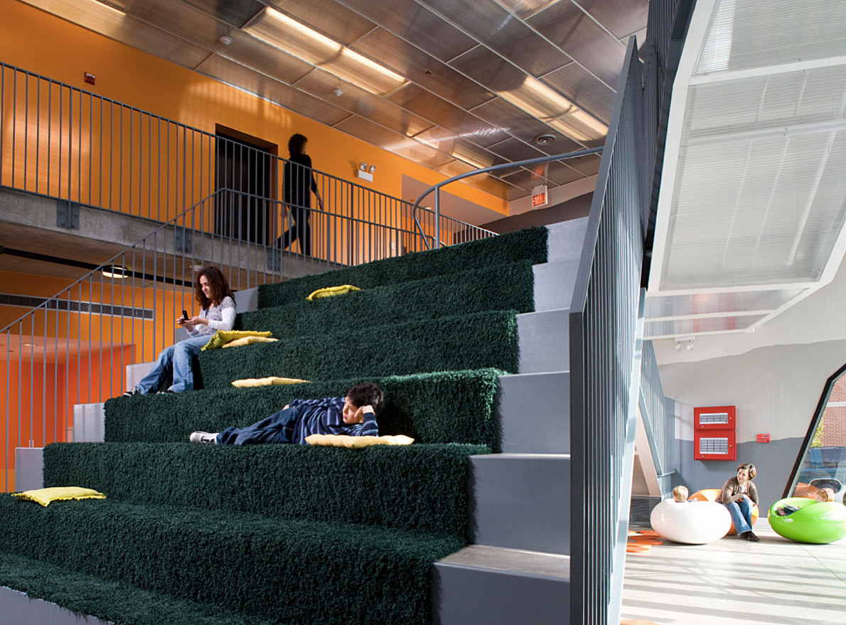 2011 Design Milestone: Lavezzorio Community Center by Studio Gang. (Photograph by Steve Hall)