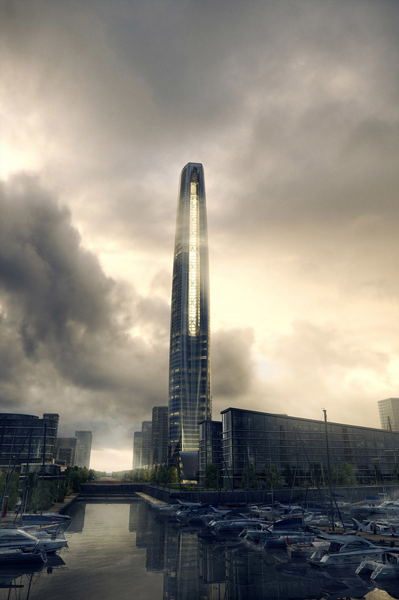 Overall tower view (Image: SOM | MIR)