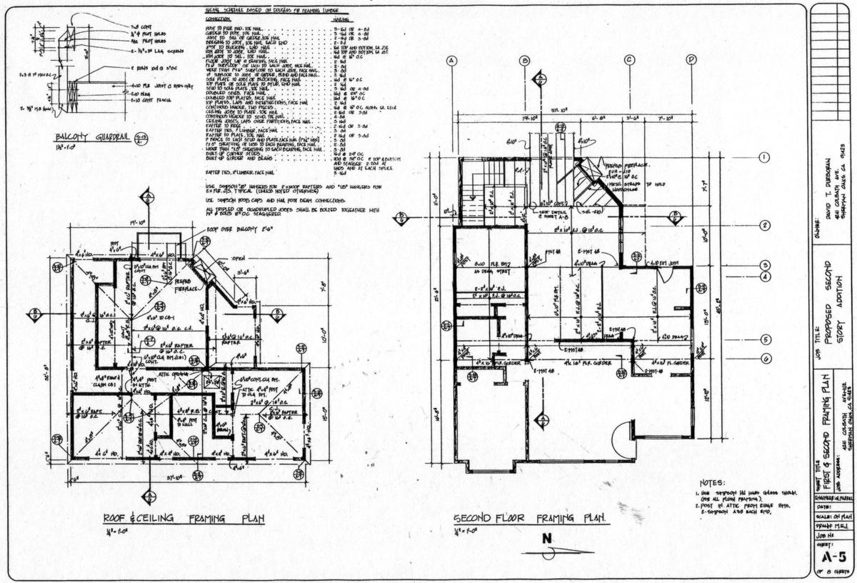 2 Story addition, Sherman Oaks, CA. Built