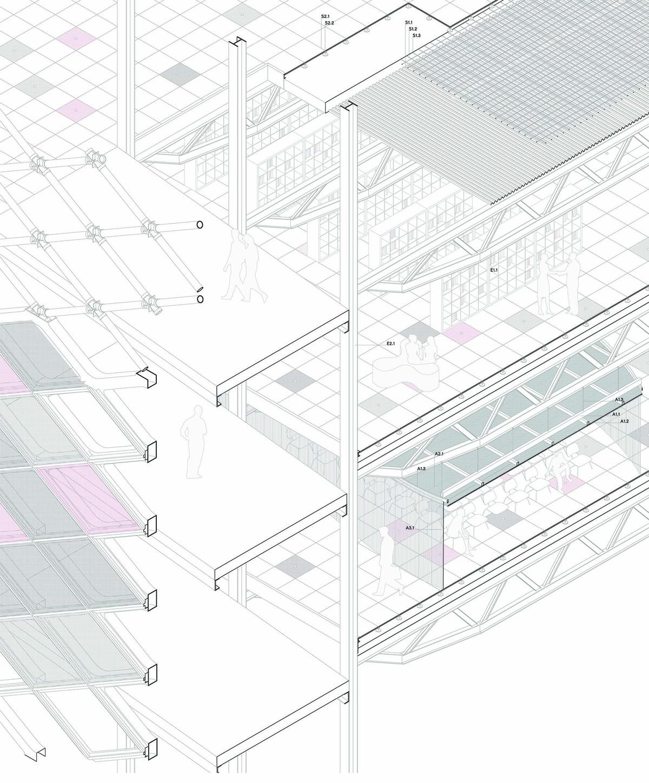 Construction axono
