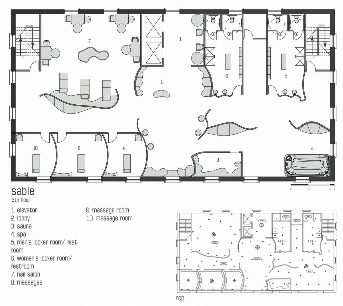 3d Salon Floor Plan Joy Studio Design Gallery Best Design