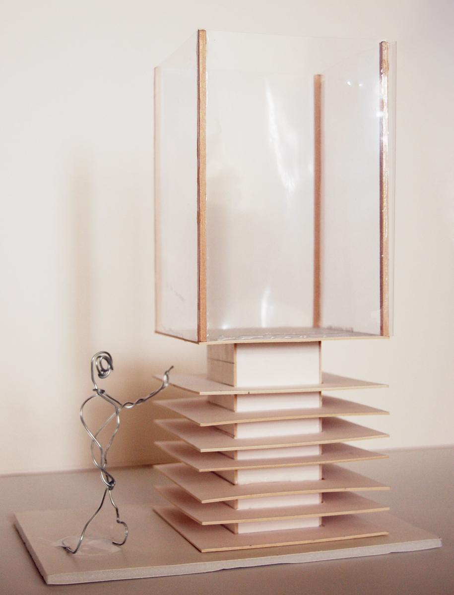Light column sketch model