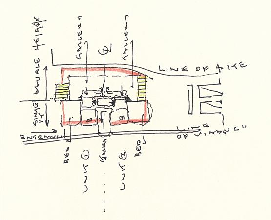 Roger Zogolovitch Centaur sketch