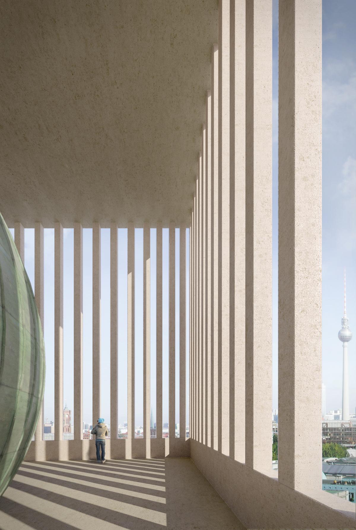 City Loggia © Kuehn Malvezzi, Visualization: Kuehn Malvezzi