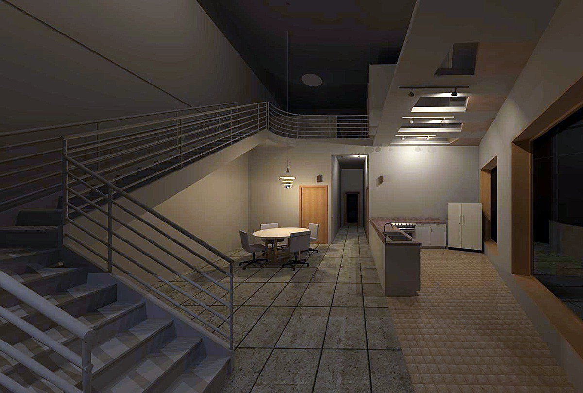 4bd, 4bth Unit Interior Perspective