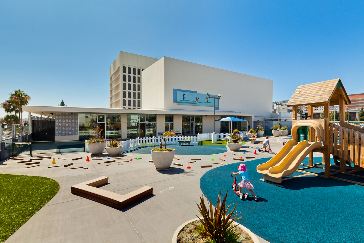 Ucla childcare center clay aurell archinect for Childcare centre