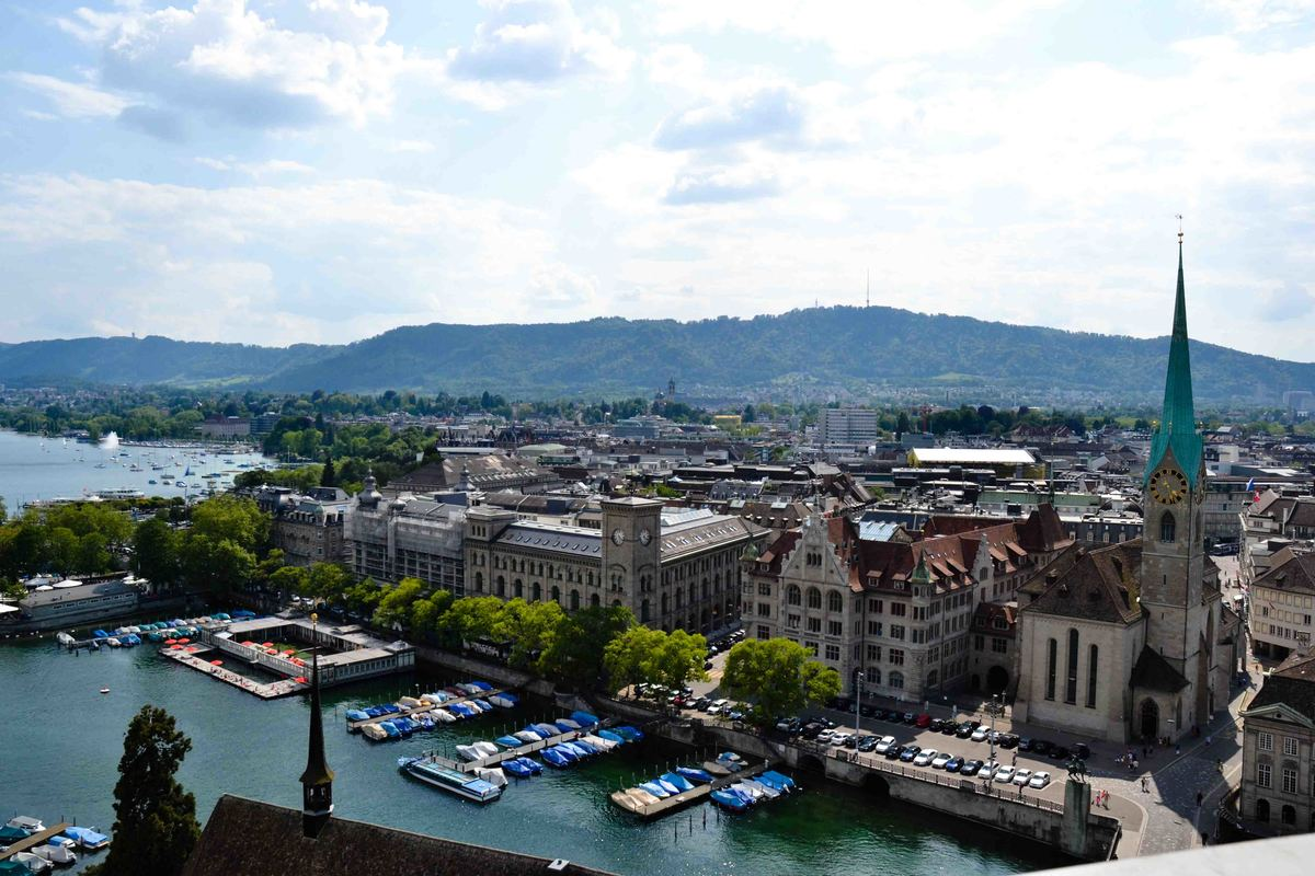 City View from the Grossmünster