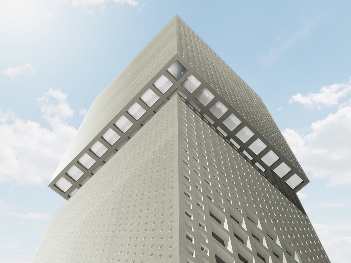 Facade (Image courtesy of OMA)