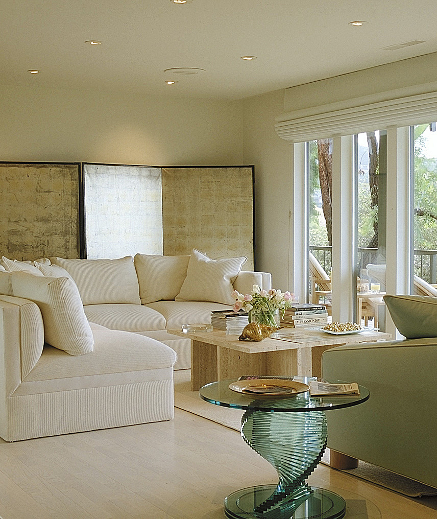 Living room detail.