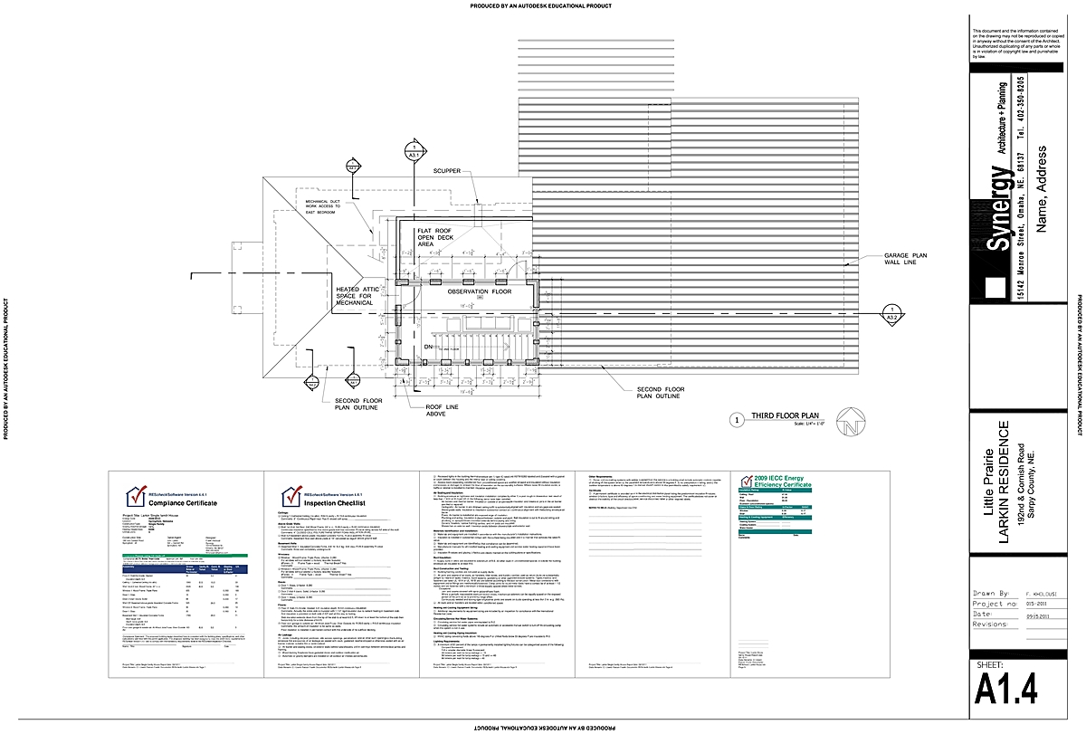 3rd Floor - Synergy Architect + Planning