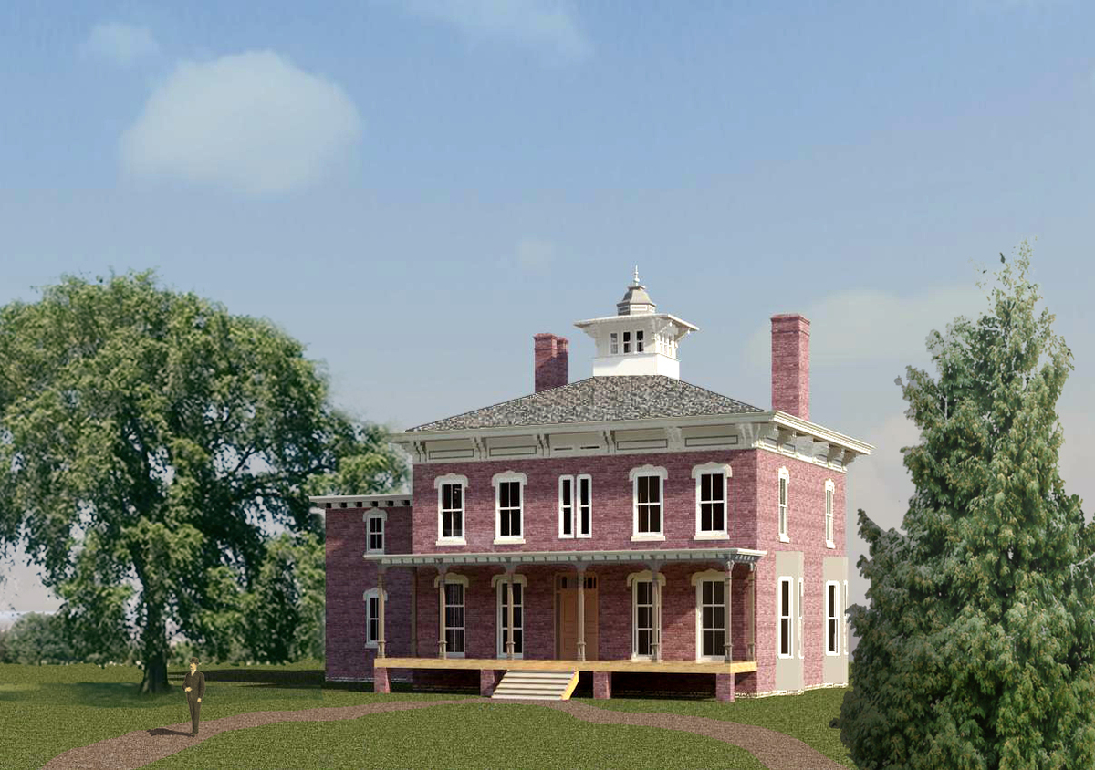 Wilder Mansion - Revit Model - 1879 Appearance