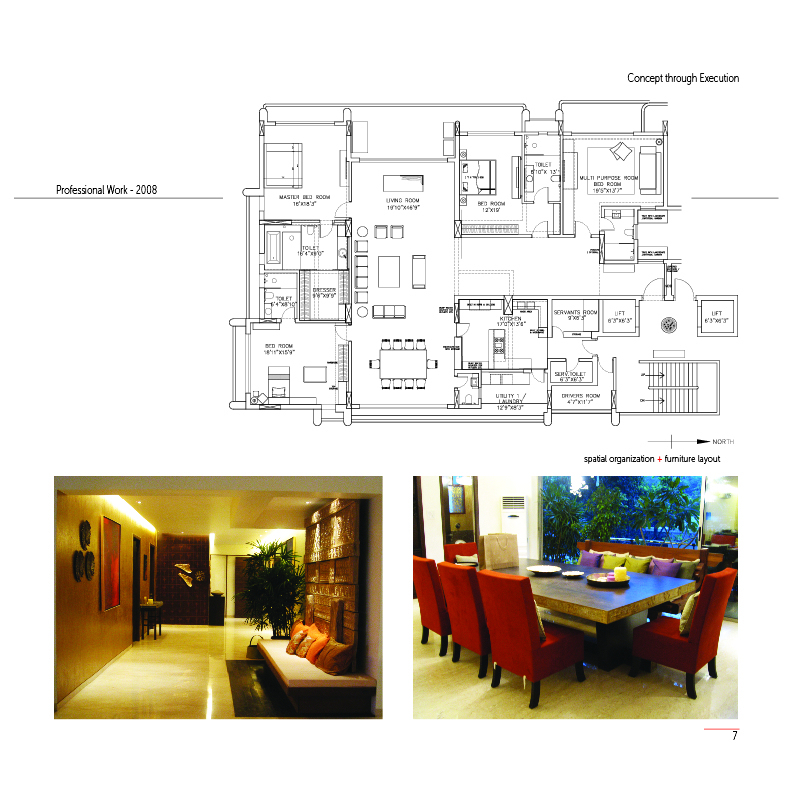 High End Residential Project - Completed in 2008, Mumbai - India
