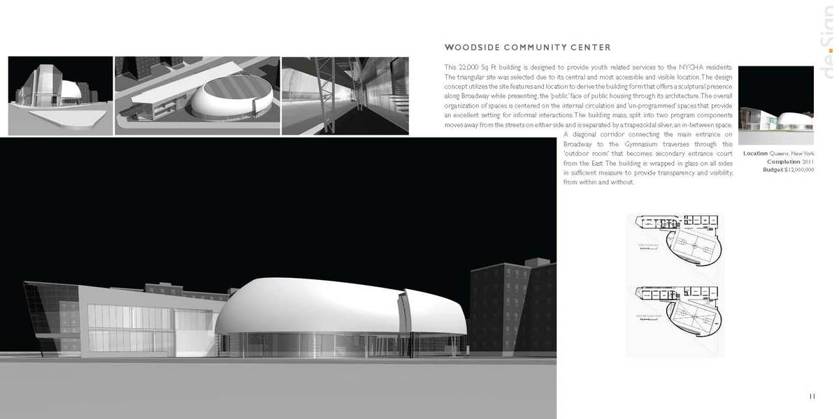 Ellipsoid | Community & Recreational Facility | NYC © Viren Brahmbhatt/de.Sign