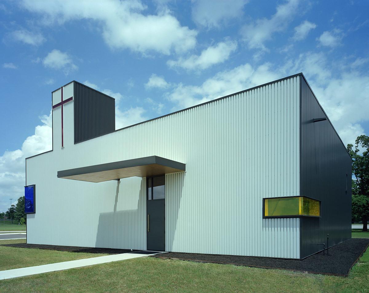 Saint Nicholas Antiochian Orthodox Christian Church; Springdale, AR by Marlon Blackwell Architect (Photo: Timothy Hursley)
