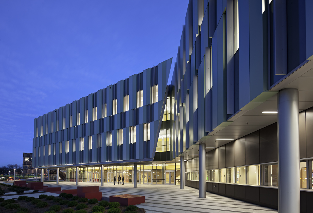 Nc A T New Academic Classroom Building