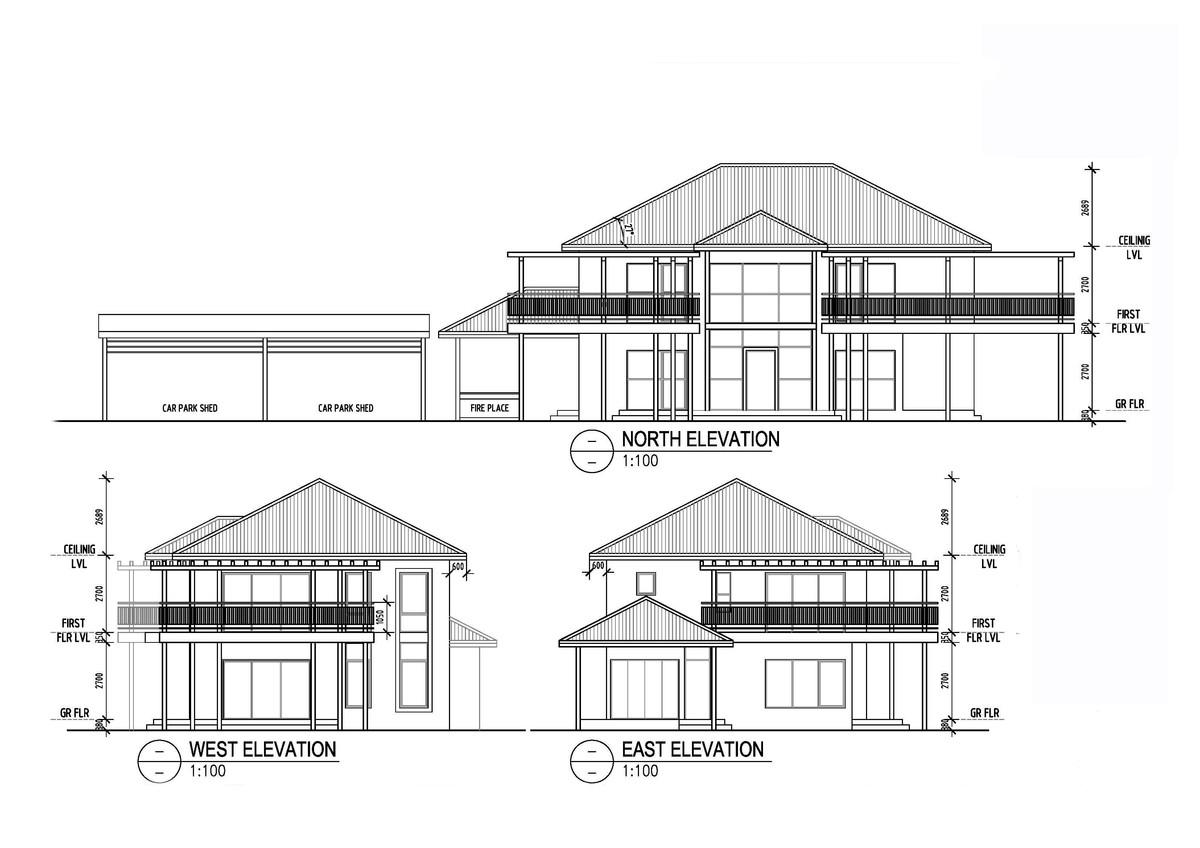Elevation Plan Ymca : Beach residence romita shrestha joshi archinect