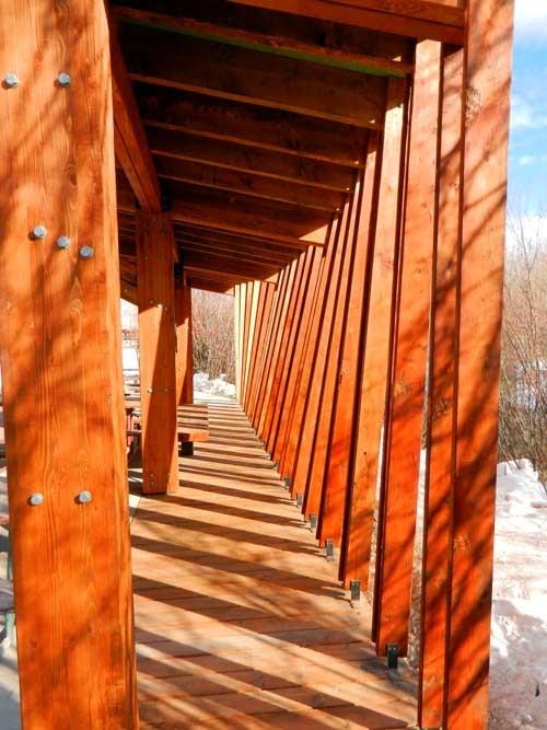 Owen Bircher Pavilion Artemis Institute Archinect