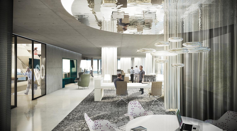 Henn to design glazed software factory in karlsruhe germany for Junior interior designer jobs nyc