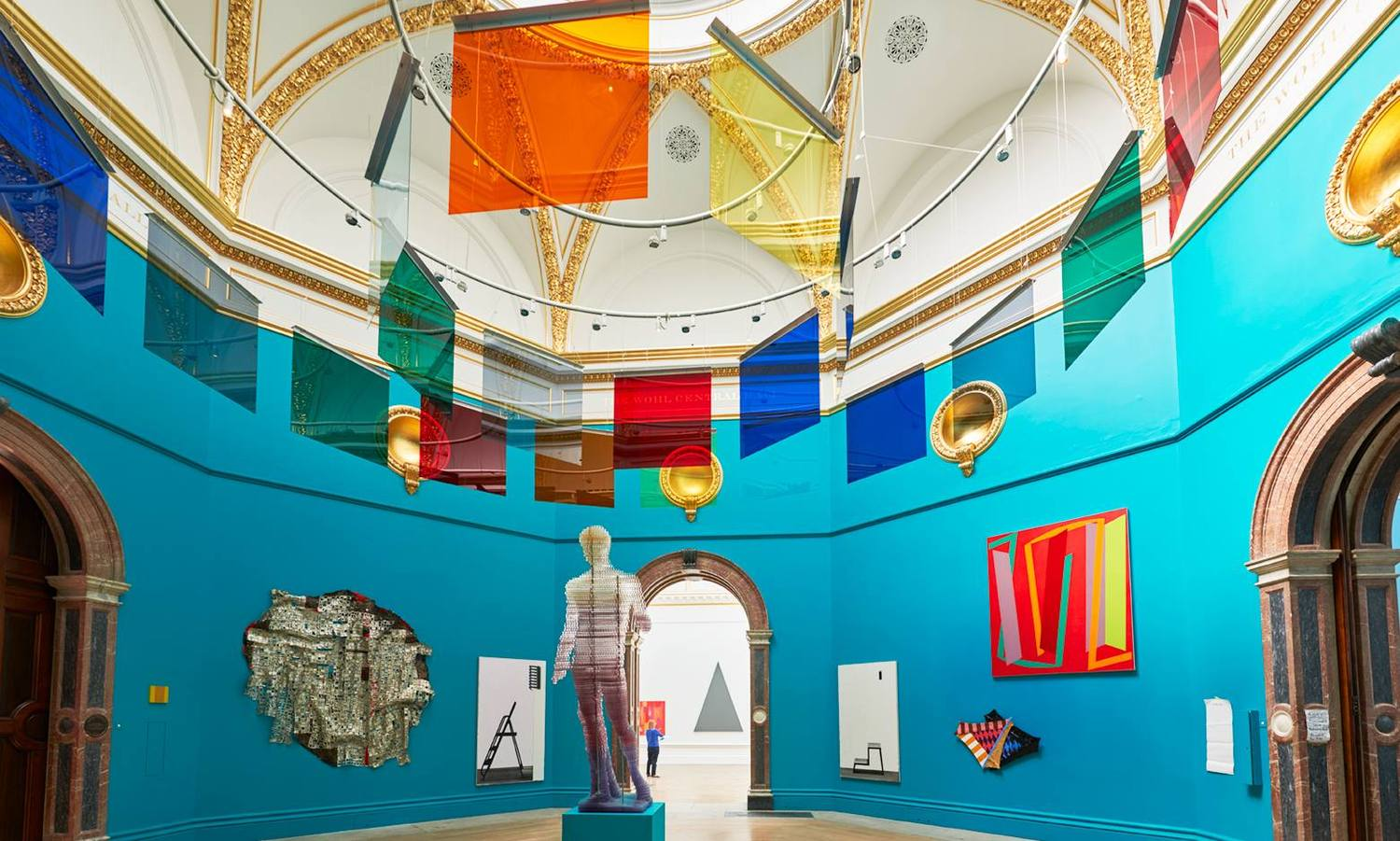 Wohl Central Hall During The Royal Academy Of Arts 2015 Summer Exhibition Visit RA To See Peter Cook Floating Ideas